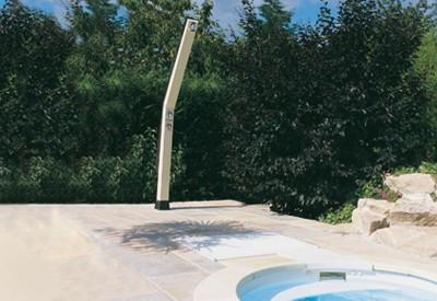 Ducha solar para piscinas piscinas desjoyaux - Ducha solar piscina ...