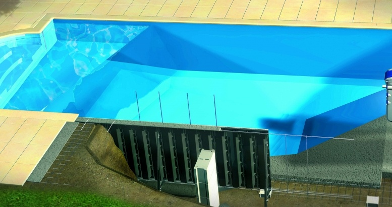 Encofrado para piscinas piscinas desjoyaux for Estructura para piscina