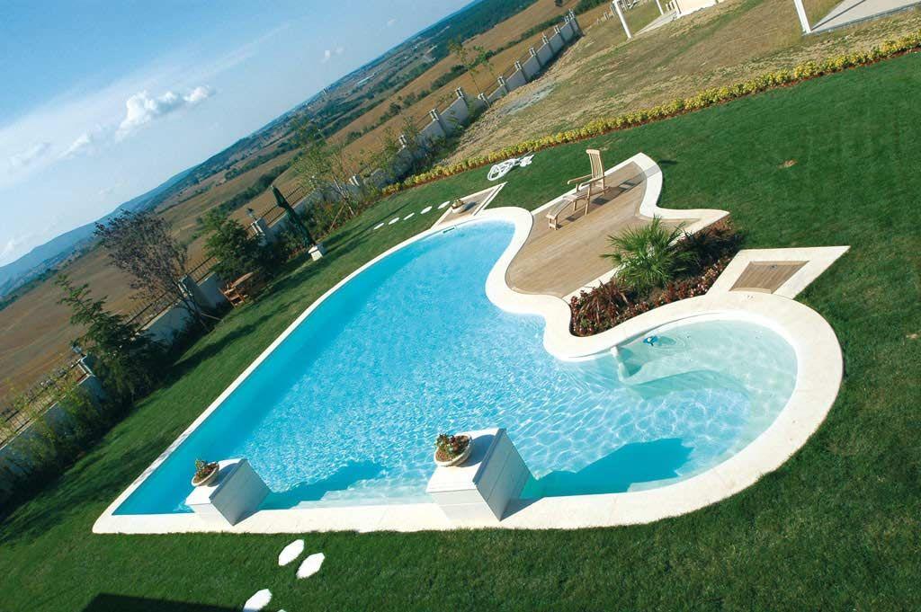 Piscinas modernas piscinas modernas para casas de lujo for Fotos de piscinas modernas